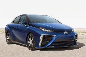 Toyota Fuel Sedan in productiejas