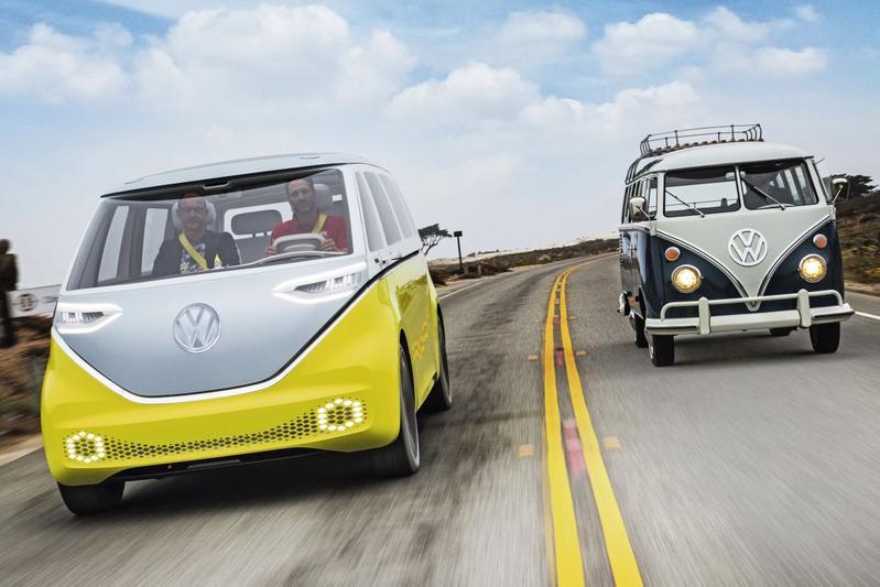 DNA-onderzoek - Volkswagen I.D. Buzz ontmoet T1