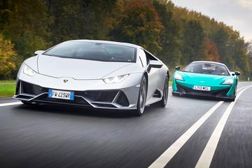 Lamborghini Huracán Evo vs. McLaren 600LT - Dubbeltest