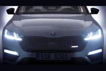 Skoda laat nieuwe Octavia RS iV doorschemeren