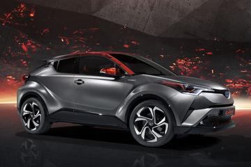Toyota C-HR Hy-Power Concept is los