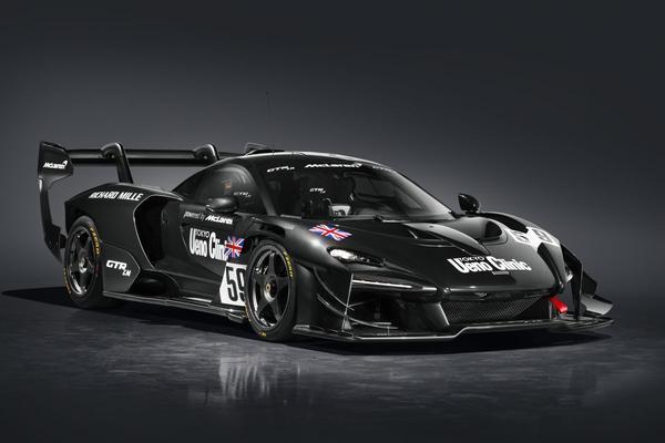 McLaren Senna GTR LM eert Le Mans-succes
