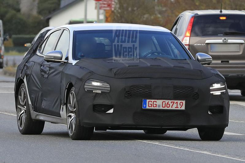 Genesis G70 Shooting Brake spionage