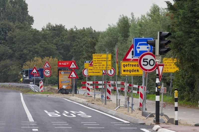 Verkeersborden (foto Pieter E. Kamp)