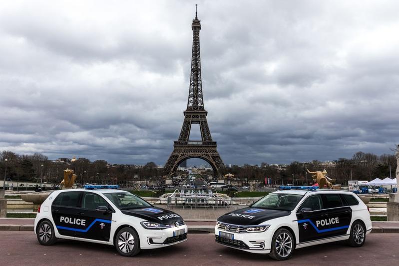 Volkswagen politie Parijs