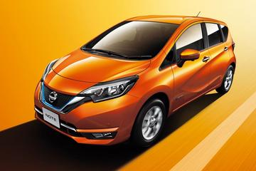 Nissan vernieuwt Note in Japan
