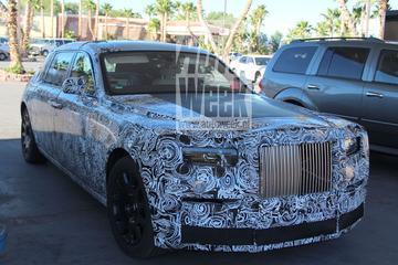 Nieuwe Rolls-Royce Phantom duikt weer op