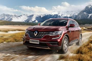 Kleine facelift voor Renault Koleos