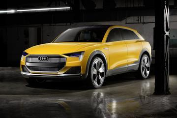 Audi h-Tron Quattro Concept is los