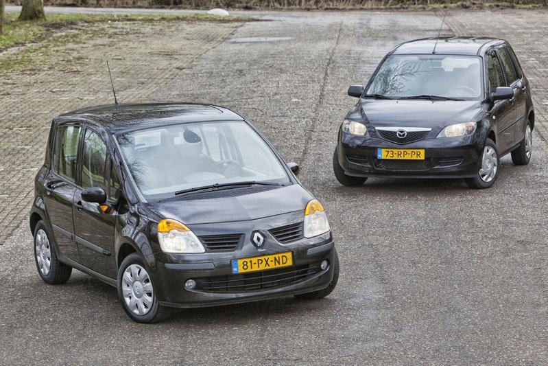 Renault Modus - Mazda 2