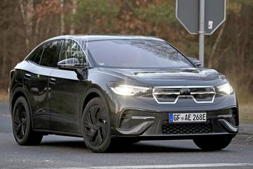 Elektrische Volkswagen ID5 betrapt