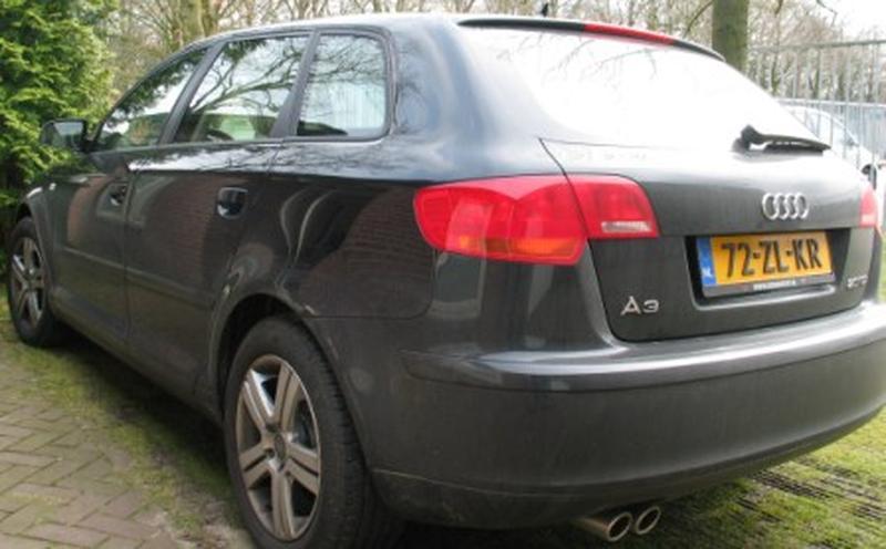 Audi A3 Sportback 2.0 TDI 170pk Attraction Pro Line (2008)