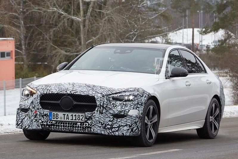 Spyshots Mercedes-Benz C-klasse