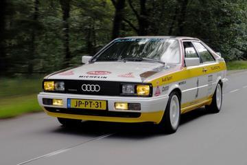 Audi Coupe Quattro - Klokje Rond Klassiek