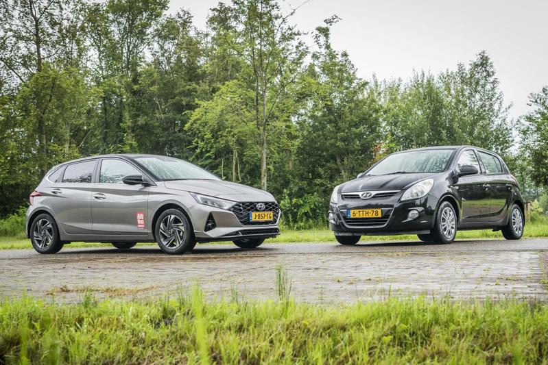Hyundai i20 - Oud en Nieuw