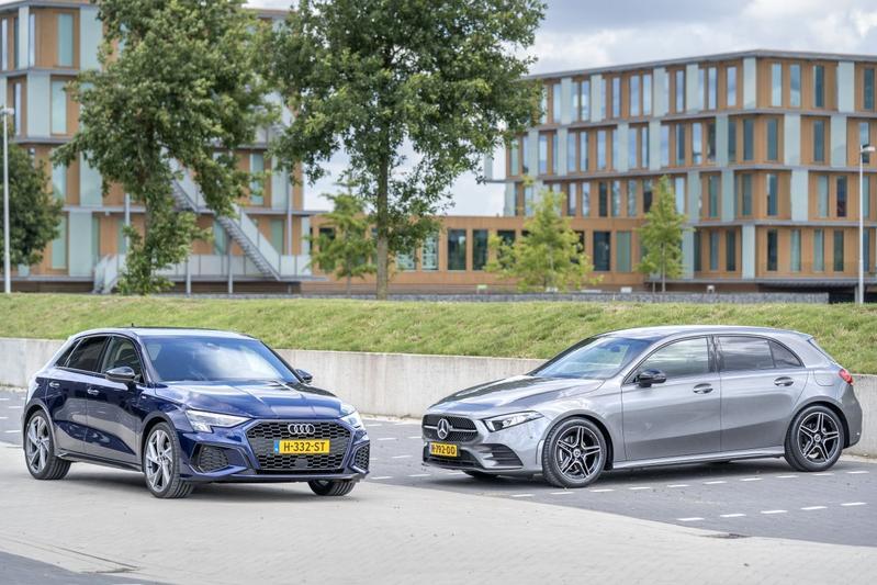 Audi A3 Sportback – Mercedes-Benz A180 - Dubbeltest