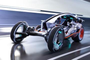 Futuristische toekomstvisie van SAIC's R