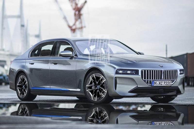 BMW i7 illustratie