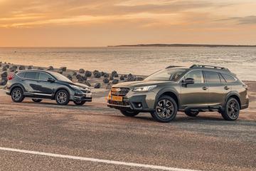 Test: Subaru Outback vs. Honda CR-V