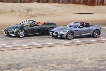 Lexus LC 500 vs. Jaguar F-Type P450 - Dubbeltest