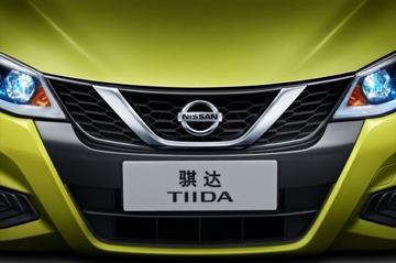 Nissan Tiida met Pulsar-looks