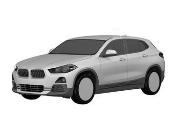 Gelekt: patentschetsen BMW X2