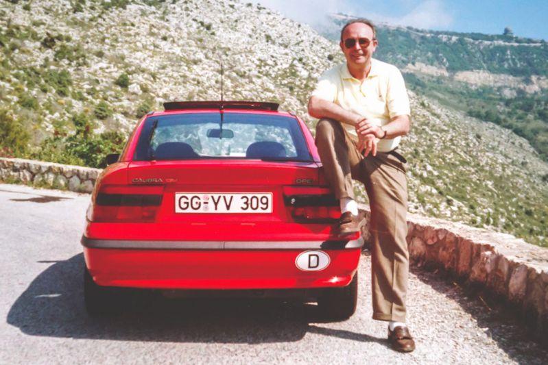 Opel-ontwikkelaar Herbert Oberhaus