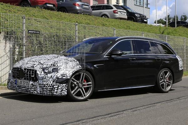 Gefacelifte Mercedes-AMG E63 Estate gespot