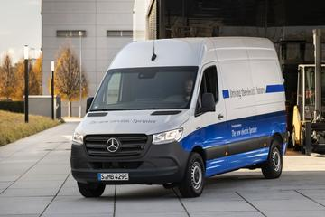 Mercedes-Benz presenteert eSprinter