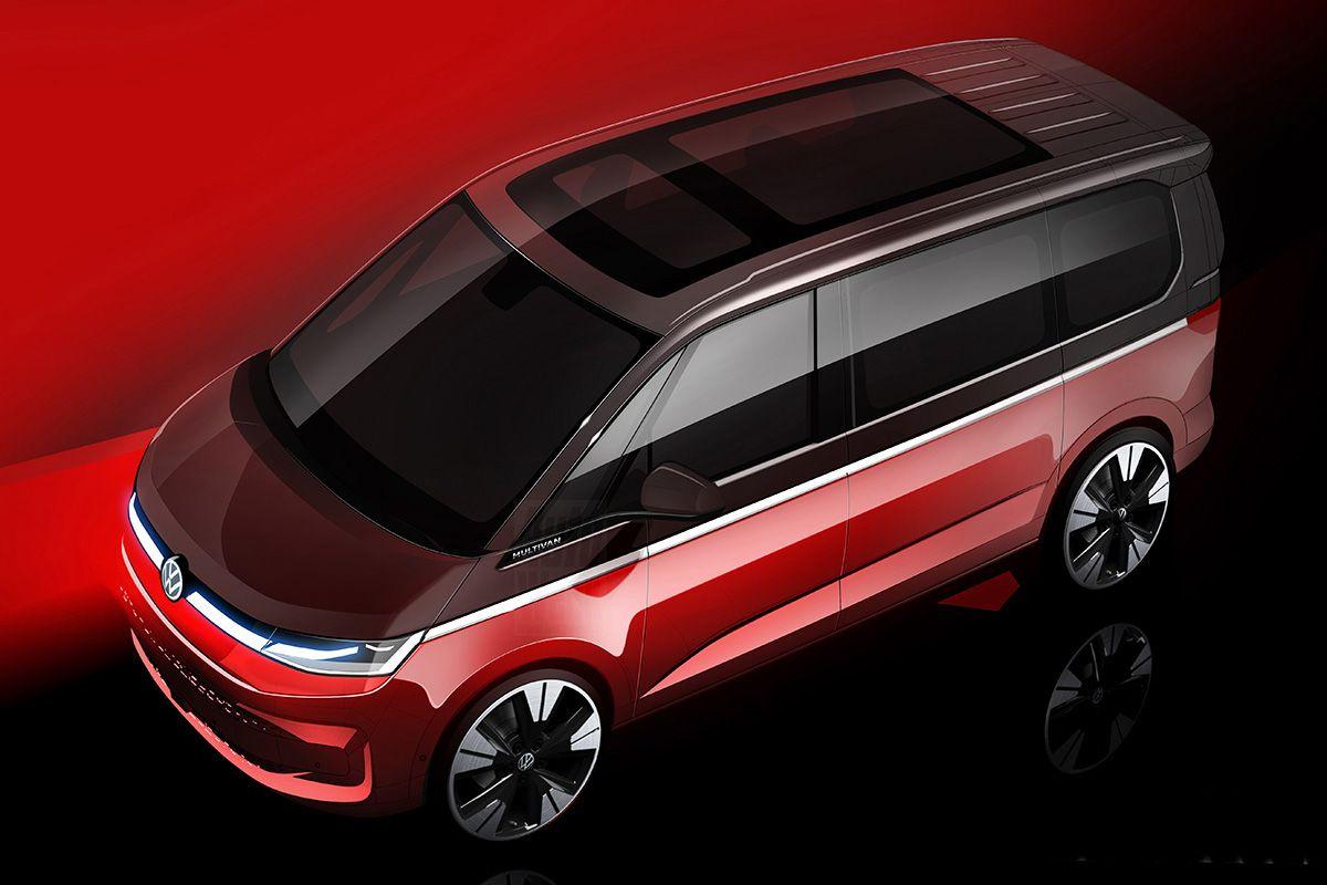 Volkswagen Multivan teaser