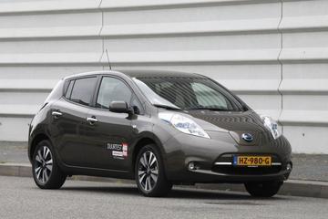 Nieuwkomer Nissan Leaf