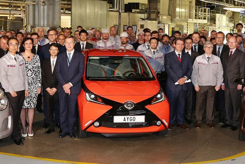 Toyota productie Aygo