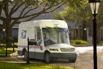Nieuwe bestelbus voor Amerikaans postbedrijf