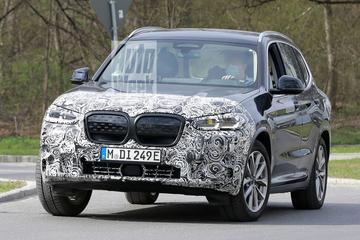 Gefacelifte BMW iX3 gesnapt