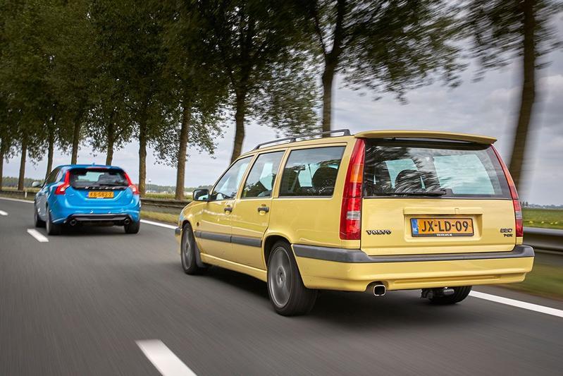 Volvo 850 T5-R vs Volvo V60 Polestar - Dubbeltest