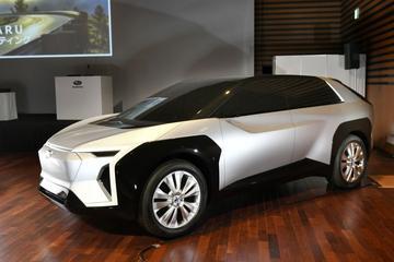 Subaru belicht elektrische toekomst