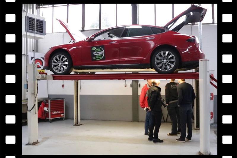 Videoflashback: Tesla Model S P85 - 271.452 km - Klokje Rond