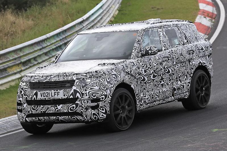 Spyshots Land Rover Range Rover SVR