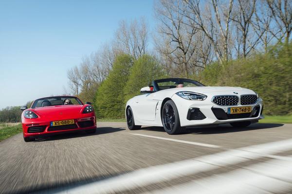 BMW Z4 vs. Porsche 718 Boxster - Dubbeltest
