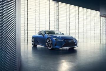 Lexus LC Structural Blue Edition: intens blauw