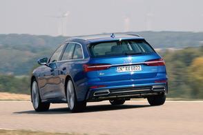 Audi A6 Avant - Rij-impressie