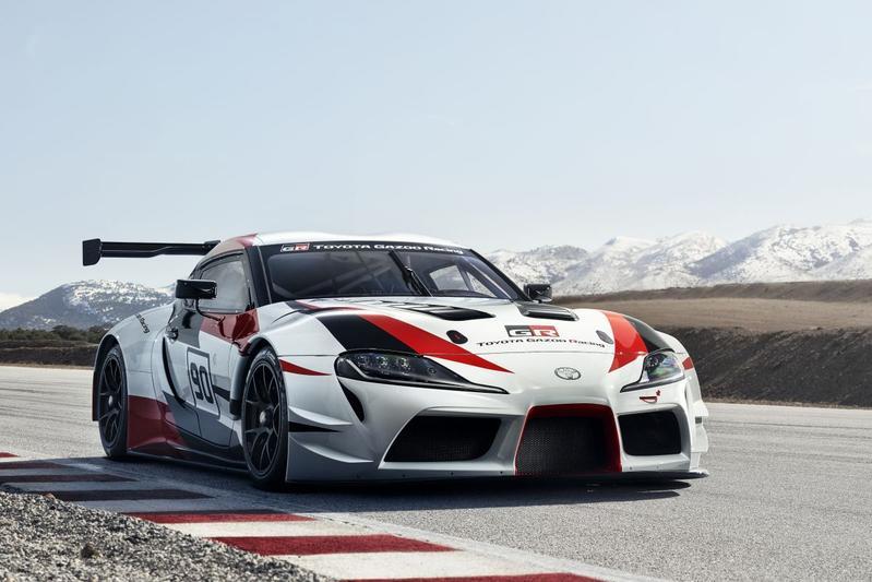 Toyota presenteert GR Supra Racing Concept