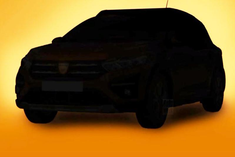 Dacia Sandero Logan teaser