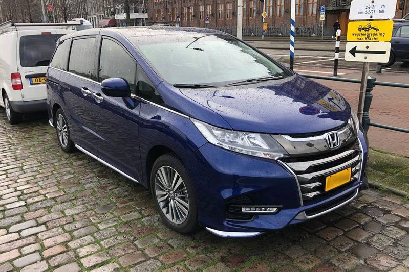 In het wild: Honda Odyssey J