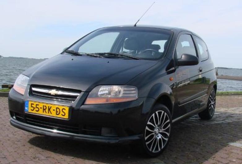 Chevrolet Kalos 1.4 16V Spirit (2005)