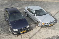 BMW 323i - volkswagen Vento VR6