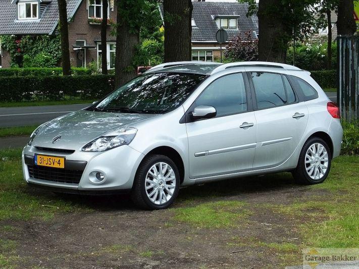 Renault Clio Estate TCE 100 Dynamique (2009)