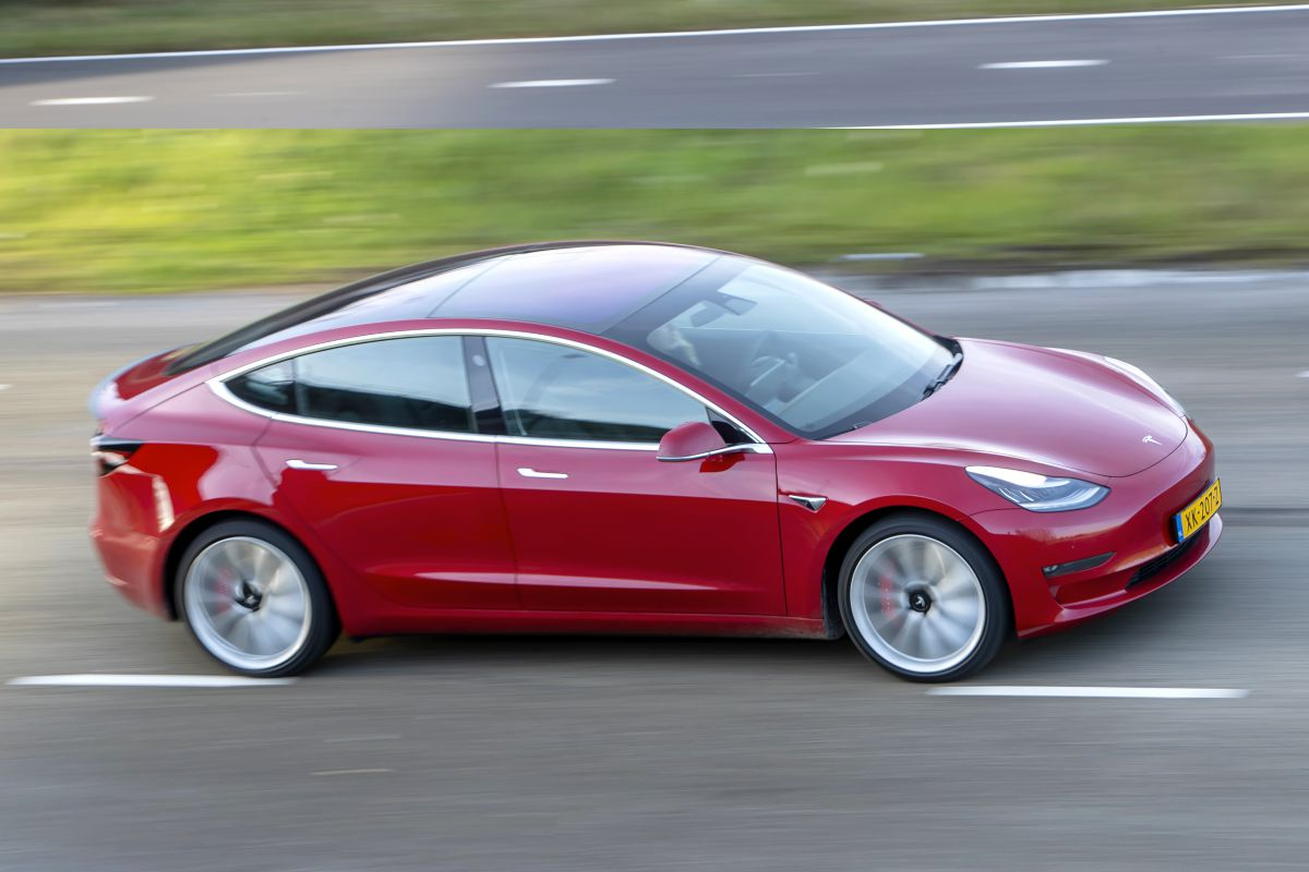 Tesla Model 3 EV elektrische auto
