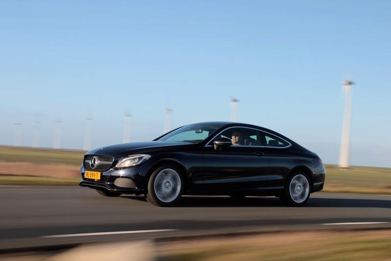 Mercedes-Benz C 180 Coupé Automaat (2016)