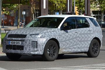 Gesnapt: gefacelifte Land Rover Discovery Sport